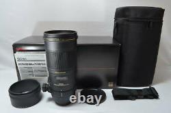 1772 Rare finest SIGMA single focus macro lens APO MACRO 180mm F2.8 EX DG OS H