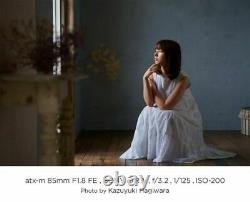 2020 Tokina single focus telephoto lens atx-m 85mm F1.8 FE Sony E for fullsize