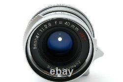 APP/NearMintRollei Sonnar 40mm/f2.8 HFT from Japan #0487