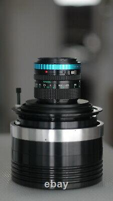 Anamorphic lens Isco Single Focus 1.33x mod-0.89m-INF BMPCC6K EF Canon50F1.4 BiN