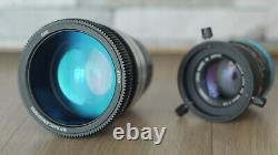 Anamorphic lens Single Focus 1.5x focus0.92m-INF Rehoused CANON EF Canon50F1.4 #