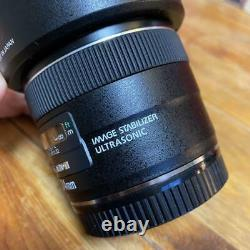 Camera Lens Canon EF 24mm F2.8 IS USM Single focus Rare Japan Limited F/S OTE703