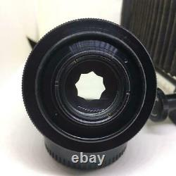 Camera Lens PENTAX Bellows Takumar 100mm F4 M42 Single focus Rare Japan OTE356