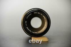 Camera Lens PENTAX Super Multi Coated MACRO Takumar 100mm F4 M42 Rare OTE355