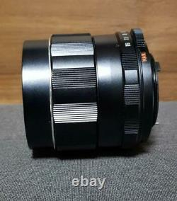 Camera Lens PENTAX Super Multi Coated Takumar 85mm F1.4 M42 Rare Japan OTE432