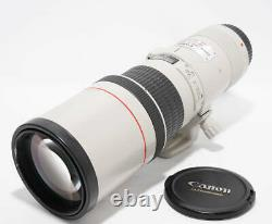 Canon EF 400mm F/5.6L USM Single focus Supertelephoto lens used JAPAN A