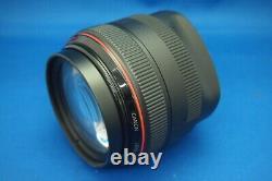 Canon EF 50mm f/1.0 L USM Wide Angle Single Focus Lens For EOS EF Mount Mint #