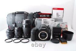 Canon EOS 5D Mark IV Standard & Telephoto & Single Focus Lens Set