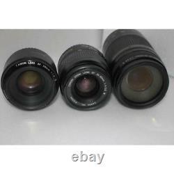 Canon EOS 6D Mark II Standard & Telephoto & Single Focus Triple Lens Set