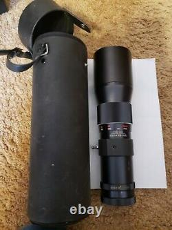 Canon FD 400mm Telephoto Single Focus Lens