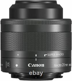 Canon Macro Lens EF-M28mm F3.5 IS STM Mirrorless interchangeable-lens camera EF