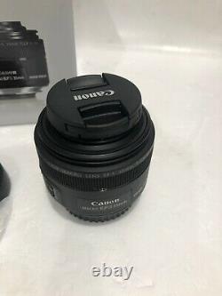 Canon Single Focus Macro Lens EF-S35mm F2.8 Macro IS STM APS-C Compatible NEW