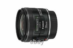 Canon Single Focus Wide Lens EF28mm F2.8 IS USM from Japan New in Box RARE FIND