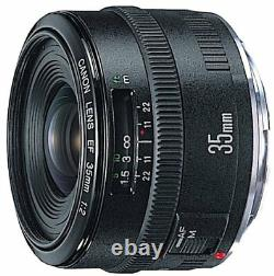Canon single focus lens EF 35 mm F 2 full size compatible