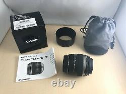 Canon single focus macro lens EF-S 60 mm F 2.8 macro USM APS-C compatible