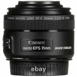 Canon single focus macro lens EF-S35mm F2.8 macro IS STM APS-C compatible