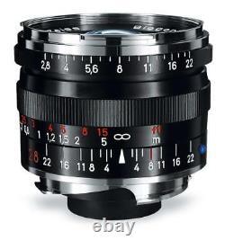 Carl Zeiss Lens Biogon T 2.8 28 F2.8 28mm ZM BK Black EMS with Tracking NEW
