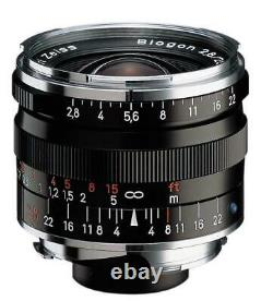 Carl Zeiss Lens Biogon T 2.8 28 F2.8 28mm ZM BK Black NEW
