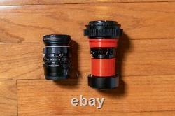 Custom Single Focus Anamorphic Lens with Super Takumar 55mm F1.8 Taking Lens (M42)