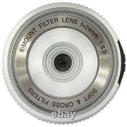 FUJIFILM Filter Lens XM FL S Silver from JAPAN