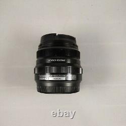 FUJIFILM Fujinon Single focus standard lens XF35mmF2R WR B