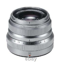 FUJIFILM Fujinon single focus Lens XF 35mm F2 R WR S (Silver) New in Box EMS F/S
