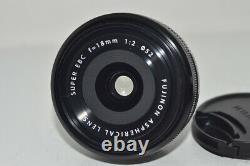 FUJIFILM XF 18mm F2 R Single focus lens for single-lens for camera #100266
