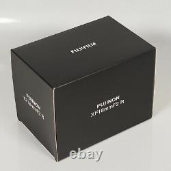 FUJIFILM XF Lens FUJINON XF18mm F2 R Single-Focus Wide-Angle F XF18MMF2 R