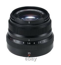 FUJIFILM single focus standard lens XF 35 mm F 2 R WR B Black from japan