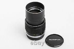 FedEx Mint Rare! Oympus M-System E. Zuiko 135mm 13.5 Single focus MF lens