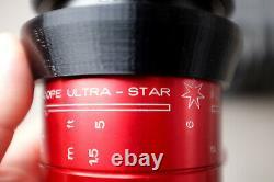 Isco Micro RED (Ultra-Star) Anamorphic Lens SINGLE FOCUS setup REFURBISHED