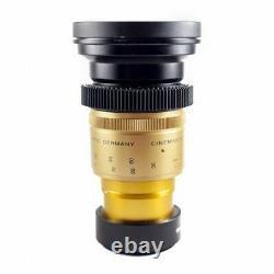 Isco Micro Single Focus Anamorphic Lens Full Kit for DSLR & Cinema Cameras