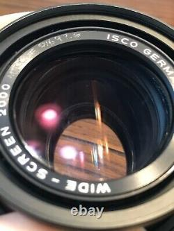 Isco Wide Screen 2000 1.5x anamorphic light single-focus attachment with clamp