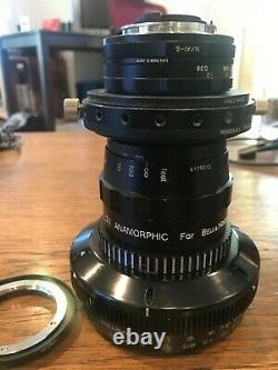 Kowa B&H 2X Anamorphic Single Focus with Voigtlander Ultron 40 & 58 HardCoreDNA EF