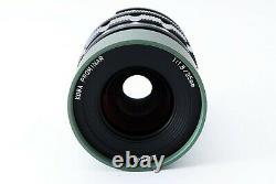 Kowa PROMINAR 25mm f/1.8 lens Green from japan Near Mint #461463A