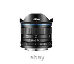 LAOWA single focus wide angle lens 7.5 mm F/2 MFT for micro Four Thirds LAO0022