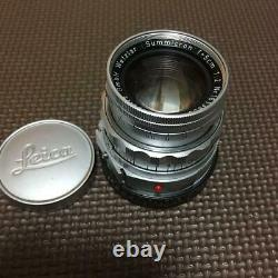 Leica SUMMICRON 50mm F2 M 151 SeriesLens Single Focus Free Shipping from Japan