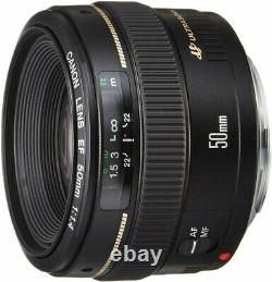 Lens Canon Single Focus Standard EF50mm F1.4 USM from Japan