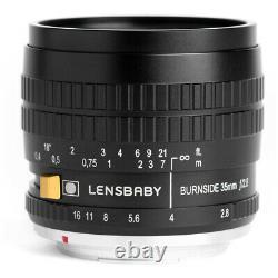 Lensbaby Burnside 35 35mm f/2.8 Lens for Nikon F mount Japan New FREE SHIPPING