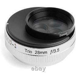 Lensbaby Single Focus Lens Trio 28 28mm F3.5 Nikon Z Mount Manual Focus FullSize