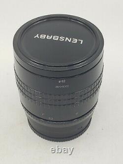 Lensbaby Velvet 56 56mm F1.6 Lens for Sony E mount free Shipping