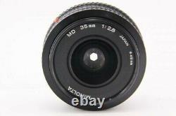 MINOLTA MD 35mm F2.8 Minolta Used single focus lens SLR camera Camera lens 7658