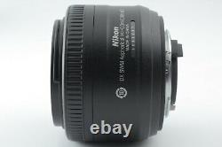 MINT NIKON AS-F DX NIKKOR 35mm f/1.8 RF M/A single focus LENS from Japan #1370