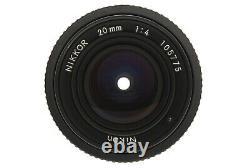 MINT/ NIKON Ai 20mm F4 NIKKOR Lens MF SLR film camera from Japan