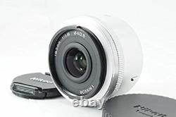 MINT Nikon 1 NIKKOR 18.5mm f/1.8 single focus lens CX format Silver from Japan