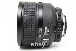 Mint Nikon Camera Lens Ai AF Nikkor 85mm F/1.4 D IF Genuine Japan a160