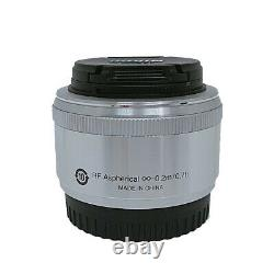 Mint with Box Nikon single focus lens 1 NIKKOR 18.5mm f /1.8 Silver From Japan