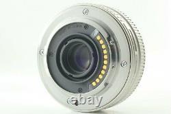 N. Mint ++ Olympus M. Zuiko Digital 17mm f/2.8 Single focus Lens Silver Japan