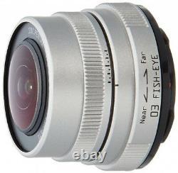 NEW PENTAX 22087 03 FISH-EYE Single-focus lens 03 for Q Series 3.2mm f/5.6 JAPAN