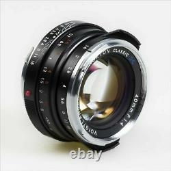 NOKTON classic 40mm F1.4 SC from Japan NEW
